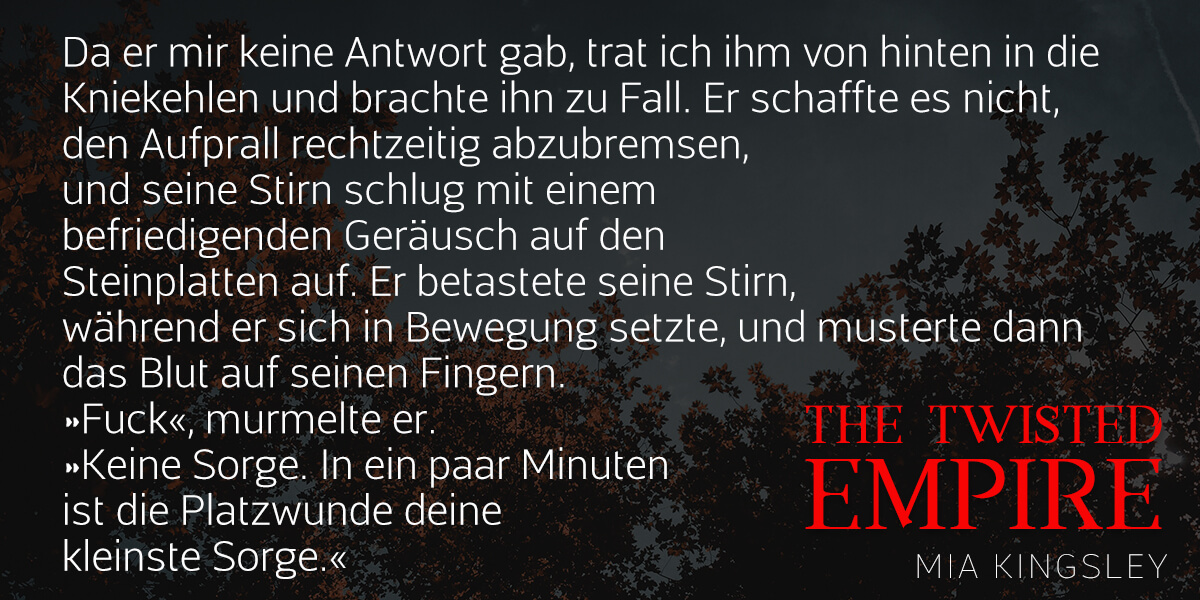 Textauszug zu The Twisted Empire